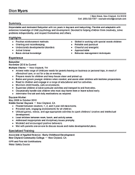 top church volunteer resume samples babysitter template b resume it