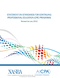cpe minnesota board of accountancy statement on standards for cpe pdf