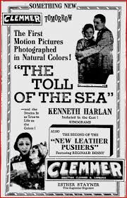 Image result for the toll of the sea 1922