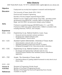 Breakupus Marvelous Online Technical Writing Resumes With Lovely Earlycareer Resume Use The Strategies Suggested Here To