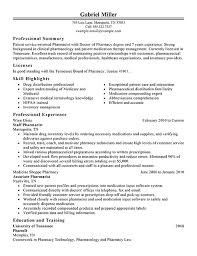pharmacist resume example classic professional summary  pharmacist resume example classic professional summary
