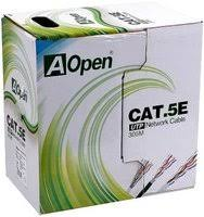 «<b>Сетевой кабель</b> бухта 305м <b>UTP</b> 5e <b>Aopen</b> ANC514-40 4 пары ...