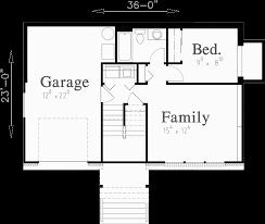 Split Level House Plans  Small House Plans Basement Floor Plan for Split level house plans  small house plans  house plans