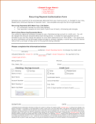 11+ recurring credit card authorization form | Lease Template ... Recurring Payment Authorization Form ACH or Credit Card Payment by hcj ...