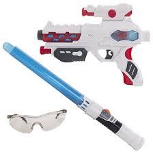 Набор <b>Fun Red бластер</b>, меч, очки со звуковыми и световыми ...