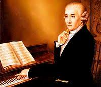 Joseph Haydn Composing a New Work for position with the Esterhazys.