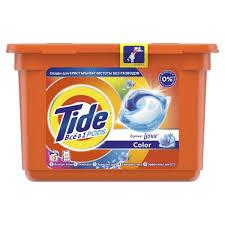 <b>Капсулы</b> для <b>стирки Tide</b> Pods с ароматом Lenor <b>Color</b>