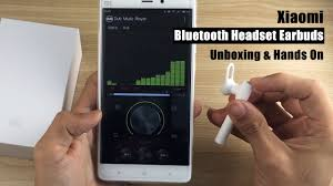 <b>Xiaomi Bluetooth Headset</b> Earbuds Unboxing & Hands On - YouTube