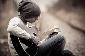 Resultado de imagen de guitarrista foto bonita