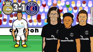 MCN - BAD BROMANCE!   3-1 Real Madrid vs PSG (Champions ...