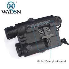 <b>WADSN Airsoft</b> LA-5 Red Lazer IR Laser <b>LED Flashlight</b> UHP ...