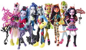 Monster High Freaky Fusion Avea Trotter Neightan Rot Bonita Femur Sirena Von Boo Clawvenus cleolei dracubecca lagoonafire