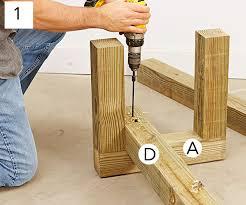 step 4 cedar bench plans