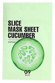 <b>Маска</b>-<b>слайс для лица тканевая</b> успокаивающая G9 Skin Slice ...
