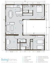 Container houses  House floor plans and Floor plans on PinterestEach room has windows  amp  cross ventilation FAB KB    Lay out of an