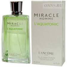 <b>Lancome Miracle Homme</b> L'Aquatonic - мужские духи, <b>туалетная</b> ...