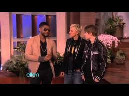 Usher Surprises <b>Justin Bieber</b> -- and the Entire Audience! - YouTube
