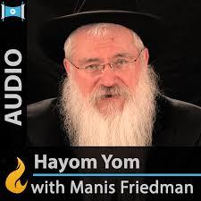 Daily Study: Hayom Yom (Audio) - by Manis Friedman