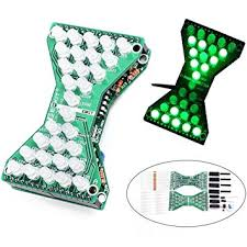 <b>3pcs</b> DC 5V <b>Green DIY LED</b> Electronic Hourglass Kit: Amazon.in ...