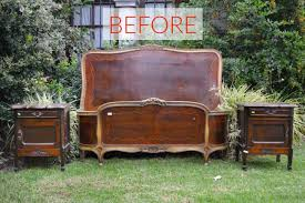 before a dark and antique bed set antique looking furniture cheap