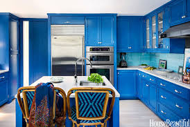 painted blue kitchen cabinets house:  ccc  hbx blue ann sacks backsplash tile martell  xln