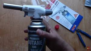 <b>Flame Gun</b>! Portable Butane Gas Burner, fire blow Gun with ignition ...