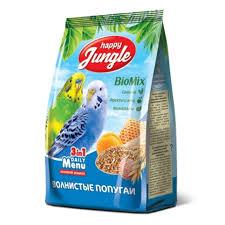 <b>Happy Jungle</b> Корм для <b>волнистых</b> попугаев - купить в ...