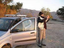 girt d gq suhana safar tapan ghosh takes a picture of sunrise as we leave mt abu