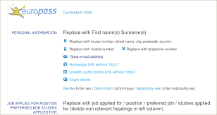 resume how to add the skype icon in europass cv tex latex enter image description here
