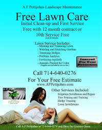 lawn care flyer templates gopherhaul landscaping lawn lawn care flyer templates