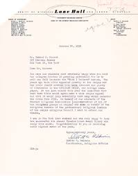 this i believe documents murrow collection letter from dewitt baldwin thanking edward murrow for letting him use the this i believe title