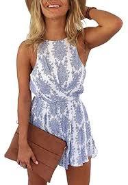 LUKYCILD Women Sexy Strap Backless Summer ... - Amazon.com
