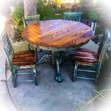 oak chunky beam dining