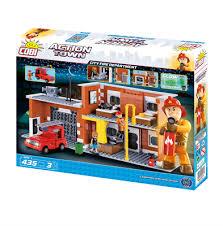 <b>Конструктор COBI</b> Большая пожарная станция <b>City</b> Fire ...