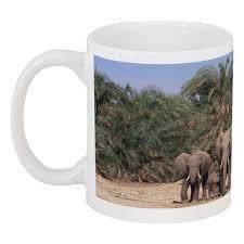 """Кружка """"слоны"""" #1869654 от Наталия Киселёва - <b>Printio</b>"""