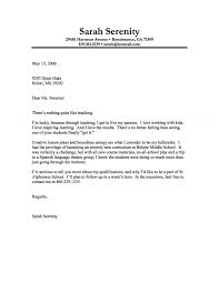 cover letter example of a teacher a passion for teaching cover letter templates