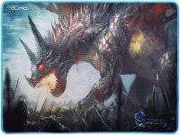 Купить <b>коврик</b> для мыши <b>Qumo</b> Dragon War <b>Daemon Hunt</b> (20969 ...