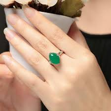 <b>Ruifan</b> Natural Stones Emerald <b>Green</b> Chalcedony Gemstone ...