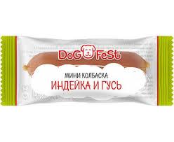 """Купить <b>Лакомства</b> для собак """"<b>DOG FEST</b>"""" <b>мини</b>-<b>колбаска</b> индейка ..."""