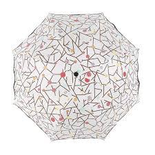 <b>Fashion creative</b> Umbrella Irregular lattice Three folding umbrella ...