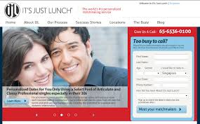 It     s just Lunch  IJL  is not a dating site as such  but a matchmaking service  now with a website at Itsjustlunchsingapore com