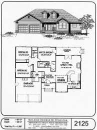 One Story House and Home PlansAdditional Features  Single Story Great Room Plan
