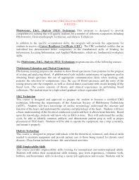 ekg resume objective resume for technician ekg technician resume principal resume sample principal resume examples technician resume