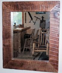 wood bathroom mirror digihome weathered: rustic bathroom mirrors barn wood furniture rustic furniture