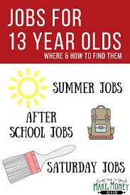 where jobs for year olds are how to get them