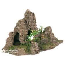 Грот Trixie Скалы с пещерой и растениями 22 см ... - ROZETKA