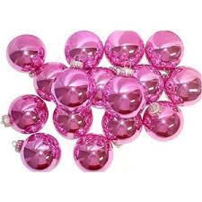 Image result for Christmas decorations in pink