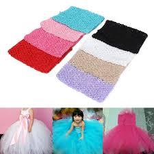 "12""<b>Crochet Tube Top</b> Elastic Waistband Headband Hair Band Girls ..."