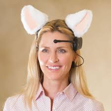 The Brain Wave <b>Animated Cat Ears</b> - Hammacher Schlemmer