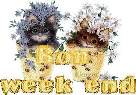 """Résultat de recherche d'images pour """"bon week end en chapeau fleuris"""""""